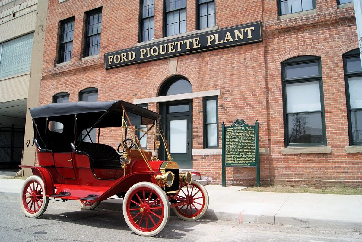 Model T at Ford Piquette Avenue Plant