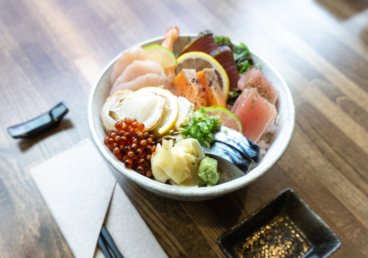 """I like to do Japanese food using local ingredients,"" says Hajime Sato, Sozai's chef-owner."
