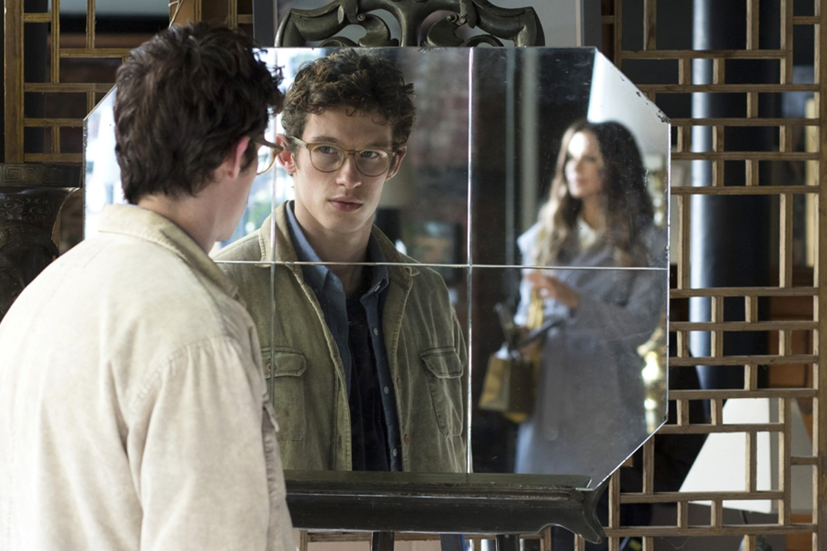 Callum Turner and Kate Beckinsale in The Only Living Boy in New York.
