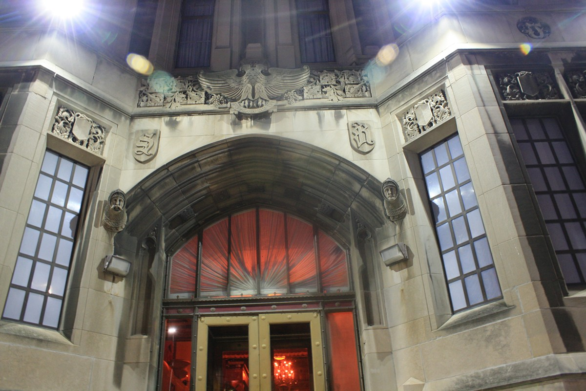 Detroit Masonic Temple.