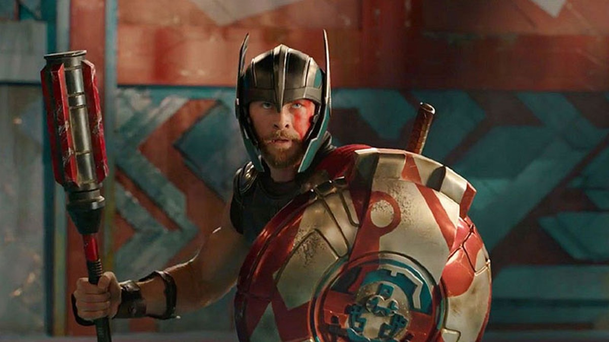 Chris Hemsworth in Thor: Ragnarok.
