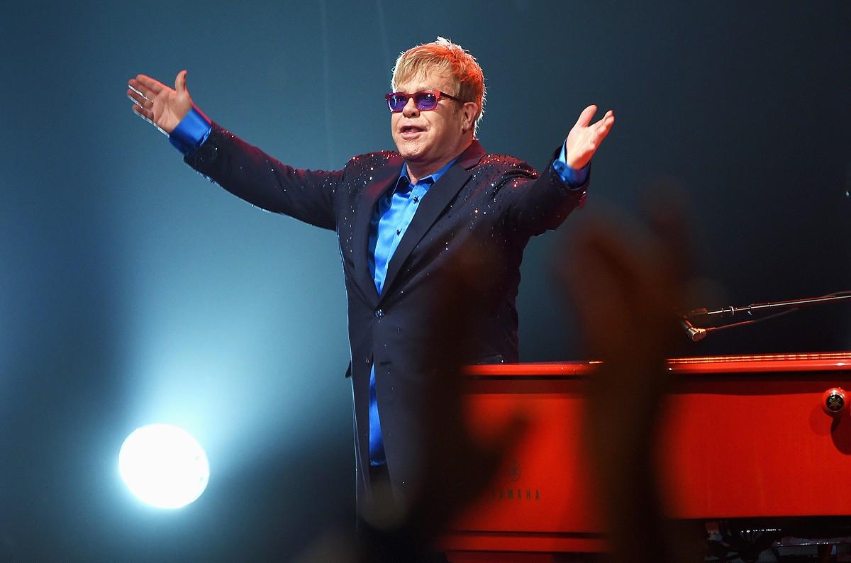 Elton John will perform on Friday, Oct. 12 at Little Caesars Arena.