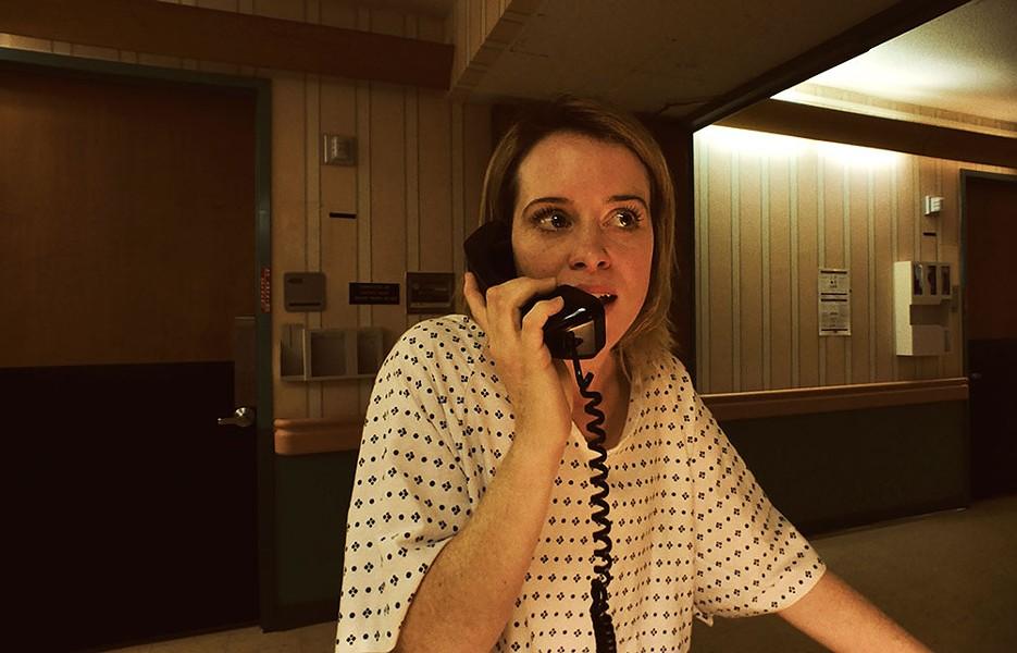 Claire Foy stars as Sawyer Valentini in Steven Soderbergh's Unsane. - COURTESY PHOTO