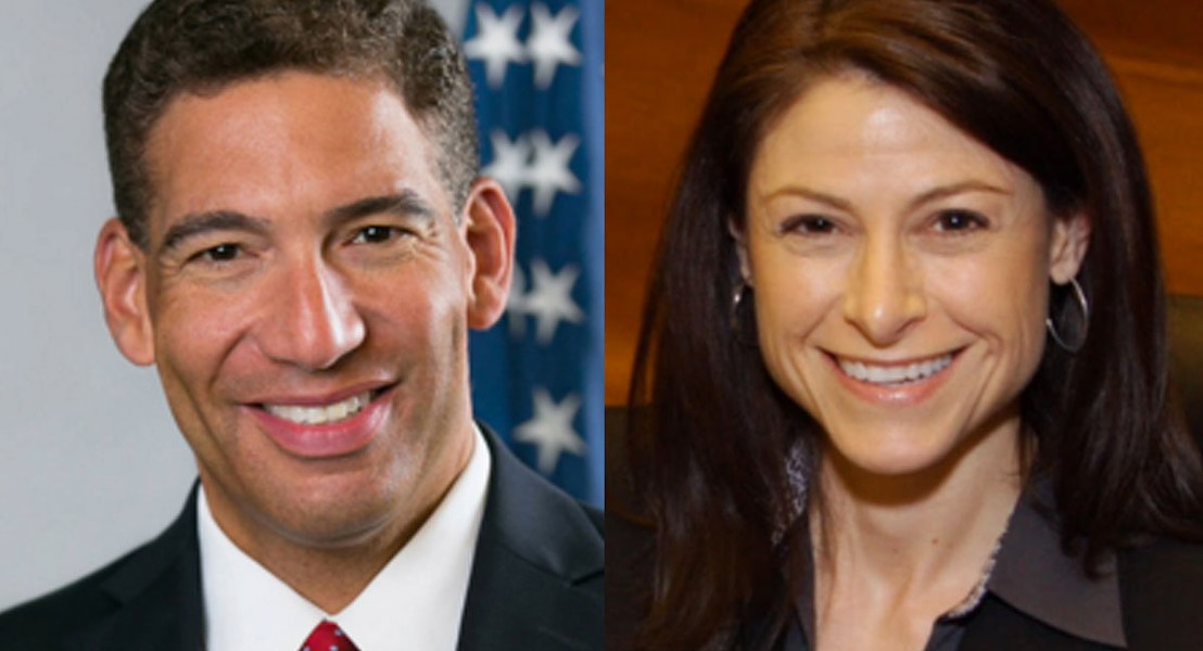 Michigan attorney general candidates Pat Miles and Dana Nessel. - COURTESY PHOTOS