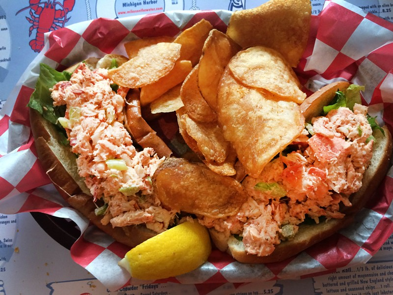Lobster Rolls at Mike's On The Water. - TOM PERKINS