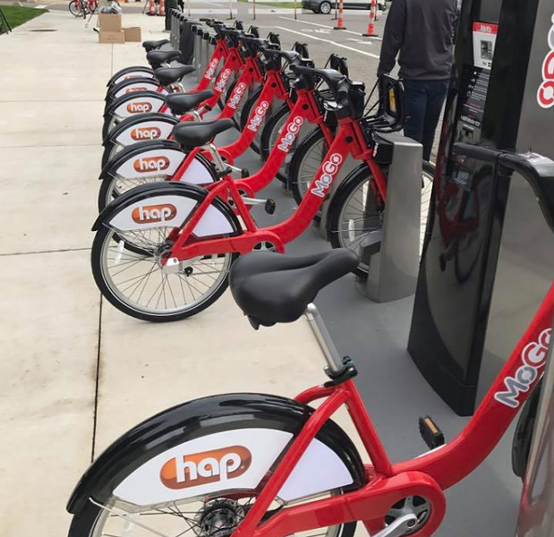 MOGO bikes in Detroit. - FACEBOOK.