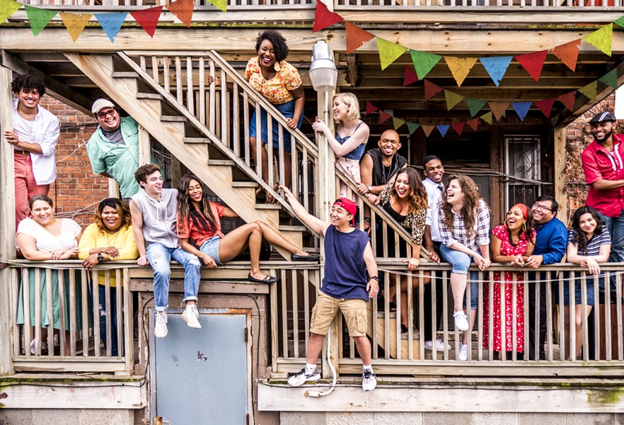 "PHOTO PROVIDED BY PRODUCTION, CAST OF ""IN THE HEIGHTS"""