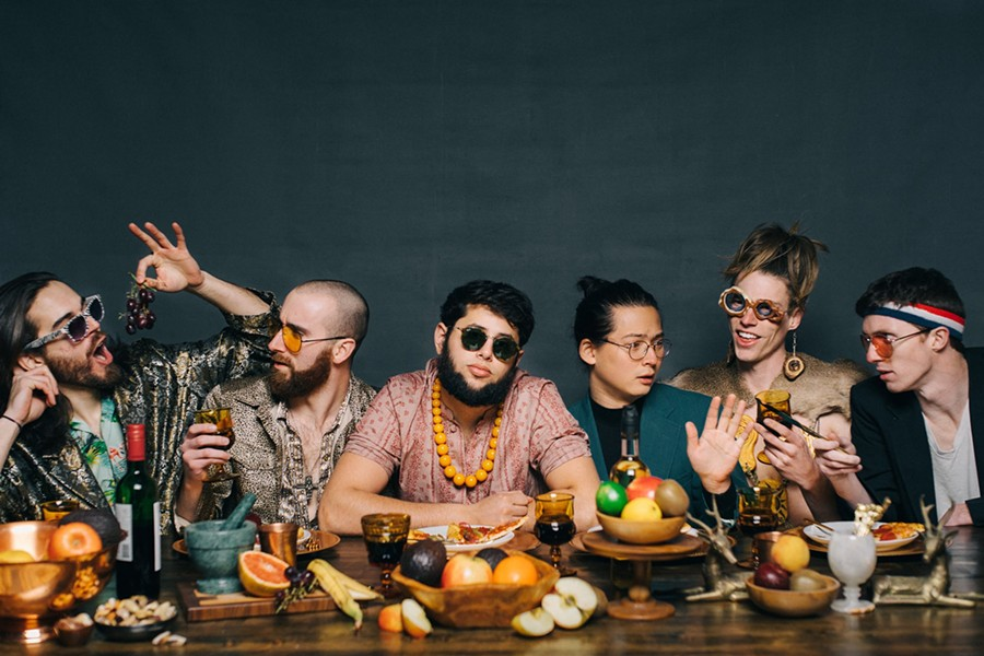 Joe Hertler and the Rainbow Seekers - PHOTO BY SAM COOK PHOTOGRAPHY