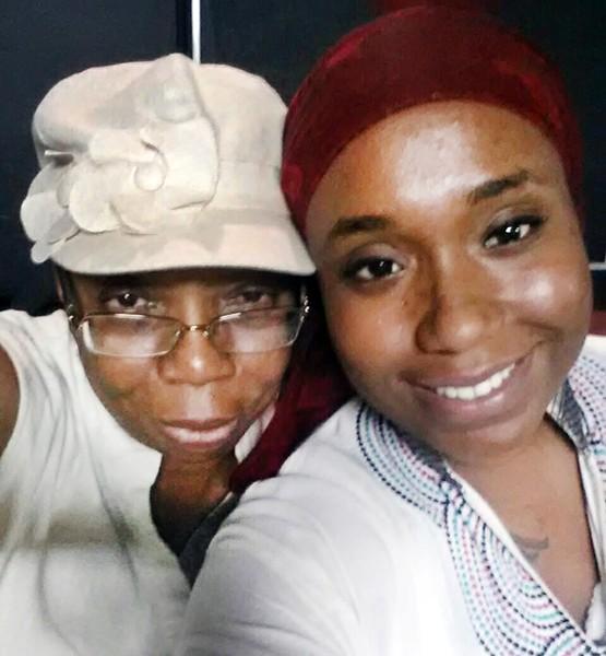 Siwatu-Salama Ra (right) and her mother, Rhonda Anderson. - COURTESY PHOTO