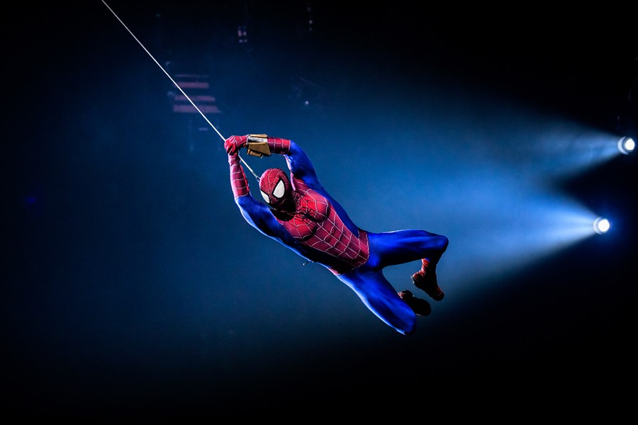 Weird flex, but OK. - PHOTO PROVIDED BY MARVEL UNIVERSE LIVE