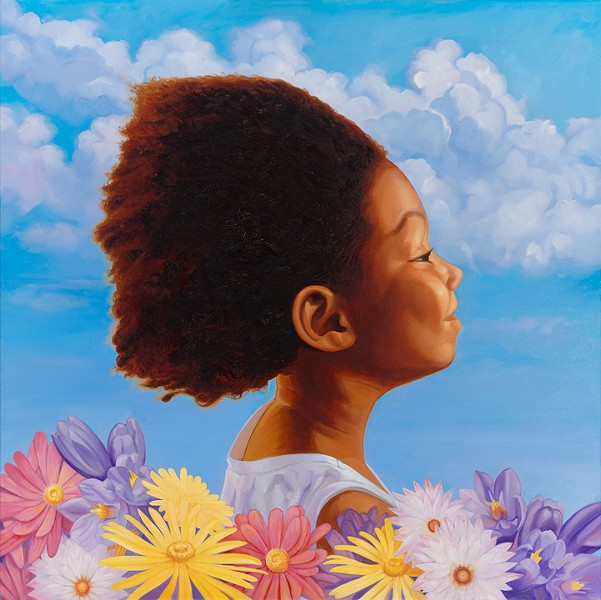 """Spring Girl"" by Jason H. Philips - COURTESY OF ARTIST"
