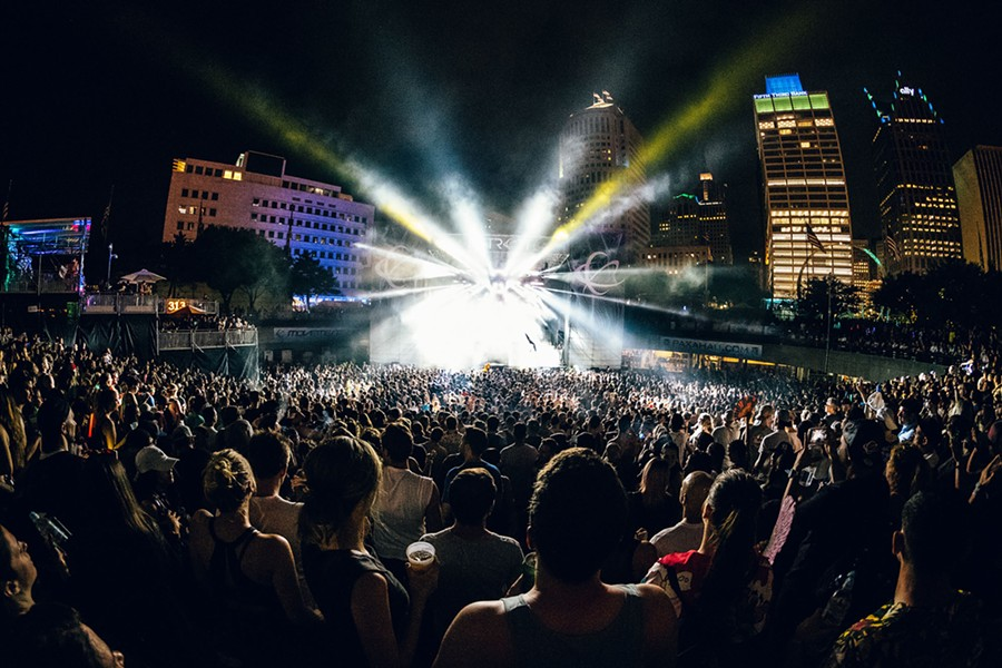 May's Movement Music Festival celebrates all things techno in the genre's birthplace. - DOUGLAS WOJCIECHOWSKI