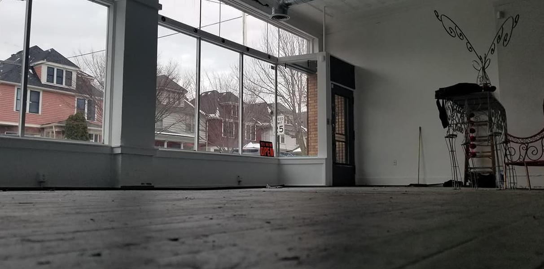 Inside Esto's Garage. - COURTESY PHOTO