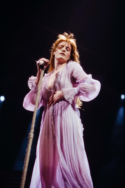 Florence and the Machine, DTE Energy Music Theatre, May 24. - LILLIE EIGER