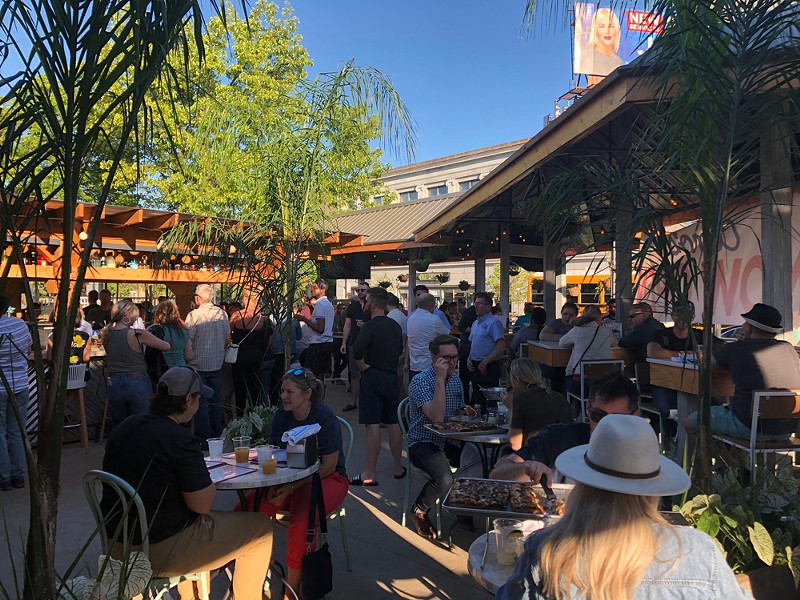 The more things change, the more some things stay the same — the best patio in Ferndale is back. - COURTESY OF COMO'S