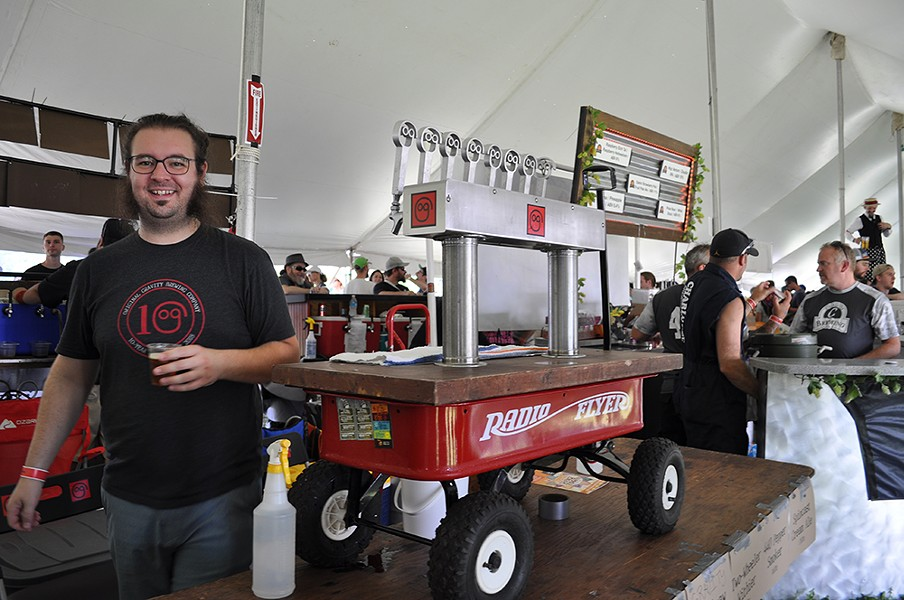 Michigan Brewers Guild's Summer Beer Festival. - JENNIFER LYONS