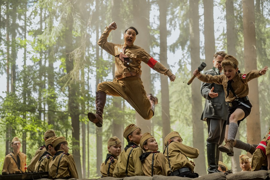 Taika Waititi and Roman Griffin Davis in Jojo Rabbit. - KIMBERLEY FRENCH, TWENTIETH CENTURY FOX