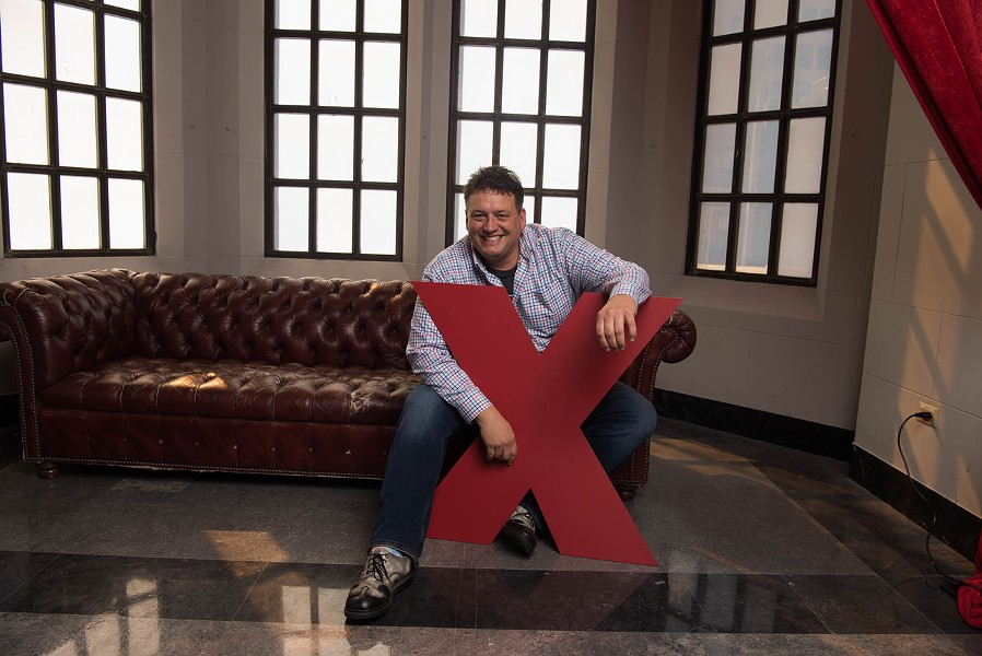 Charlie Wollborg. - COURTESY OF TEDXDETROIT