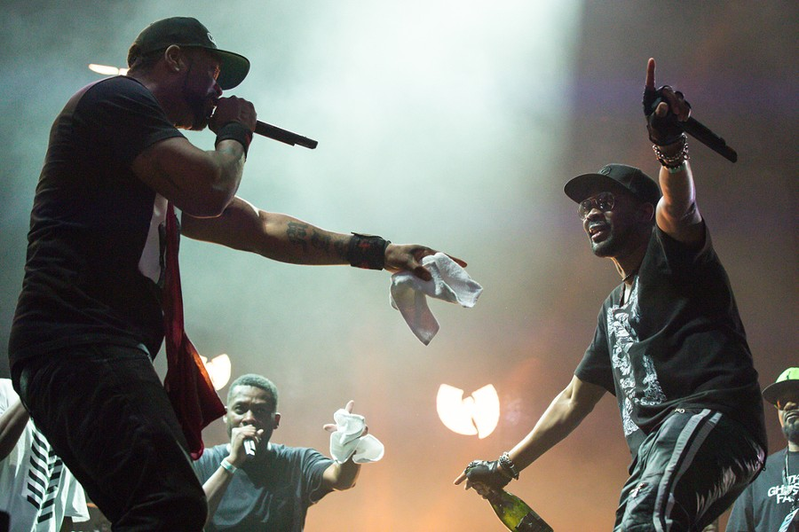 Wu-Tang Clan. - JAMES JEFFREY TAYLOR, SHUTTERSTOCK