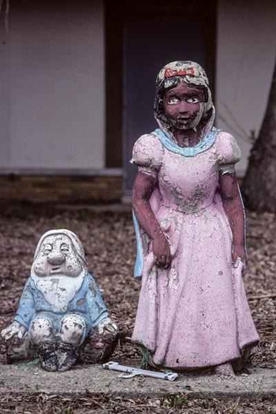Another black Snow White at Freeland and McNichols - PHOTO COURTESY CAMILO JOSÉ VERGARA
