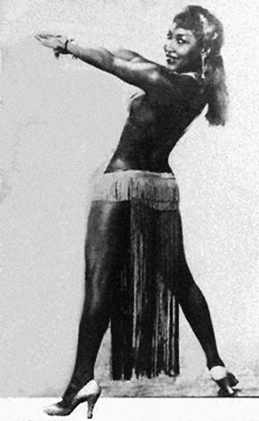 Lottie the Body in her prime. - MT ARCHIVES