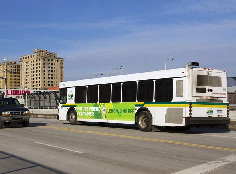 DDOT bus in Detroit. - STEVE NEAVLING