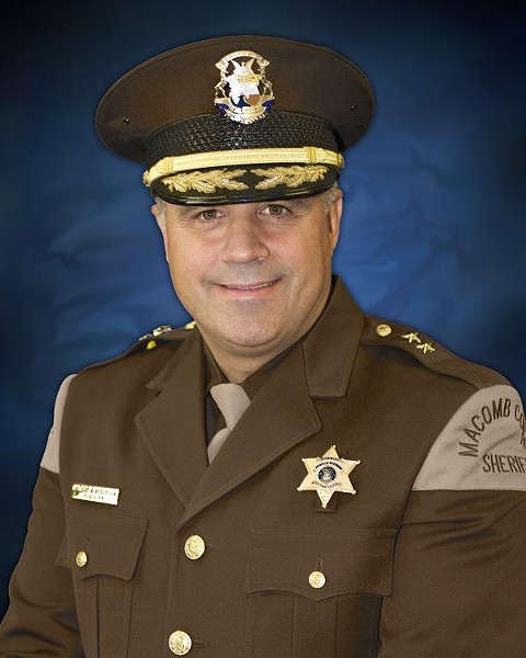 Sheriff Anthony Wickersham - MACOMB COUNTY SHERIFF'S OFFICE