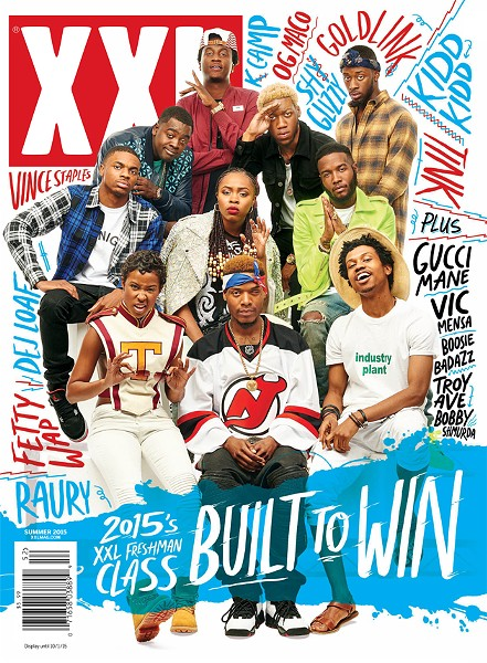 XXL Freshmen Class cover 2015 featuring DeJ Loaf - COURTESY PHOTO