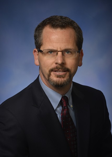 Todd Courser. - COURTESY OF THE MICHIGAN HOUSE OF REPRESENTATIVES.