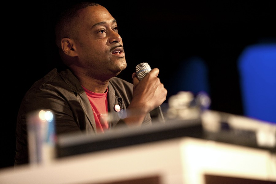 Mike Huckaby in 2011. - CHRIS POLACK/RED BULL CONTENT POOL