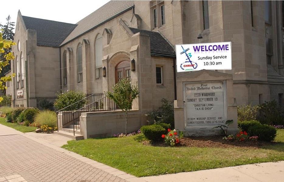 PHOTO VIA FACEBOOK: FIRST UNITED METHODIST CHURCH OF FERNDALE,MI