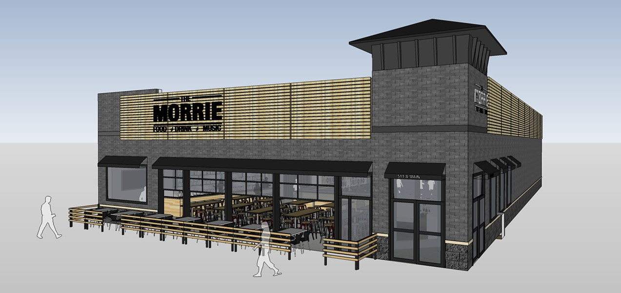 A rendering of the Morrie, set to open on Main Street in August. - COURTESY PHOTO
