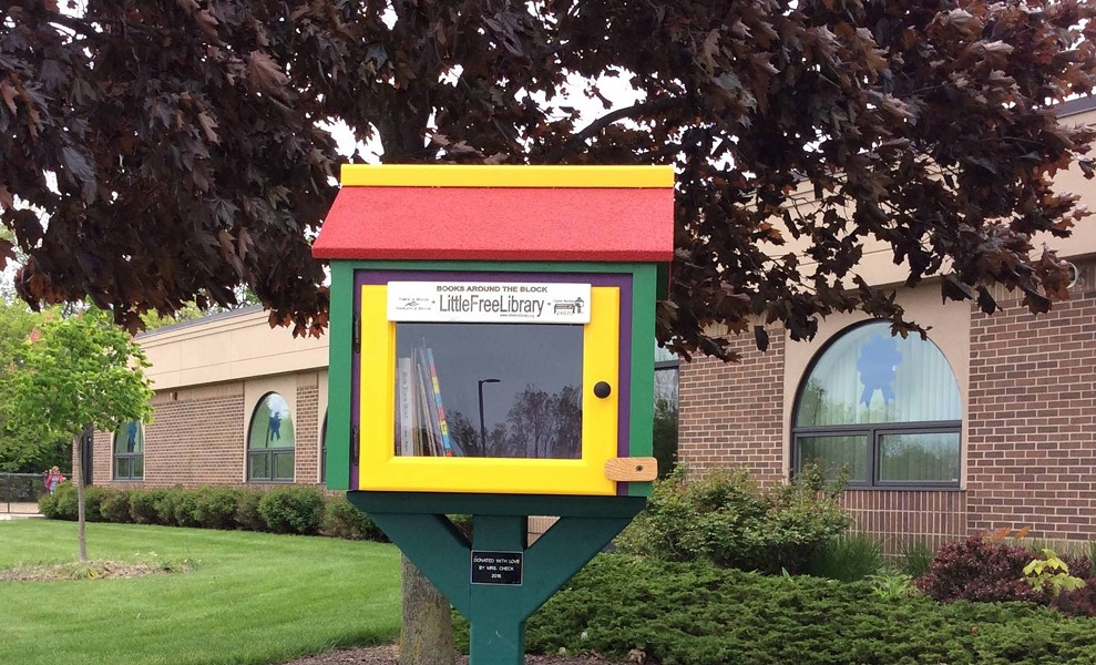 FACEBOOK, DETROIT: THE LITTLE LIBRARY CAPITAL