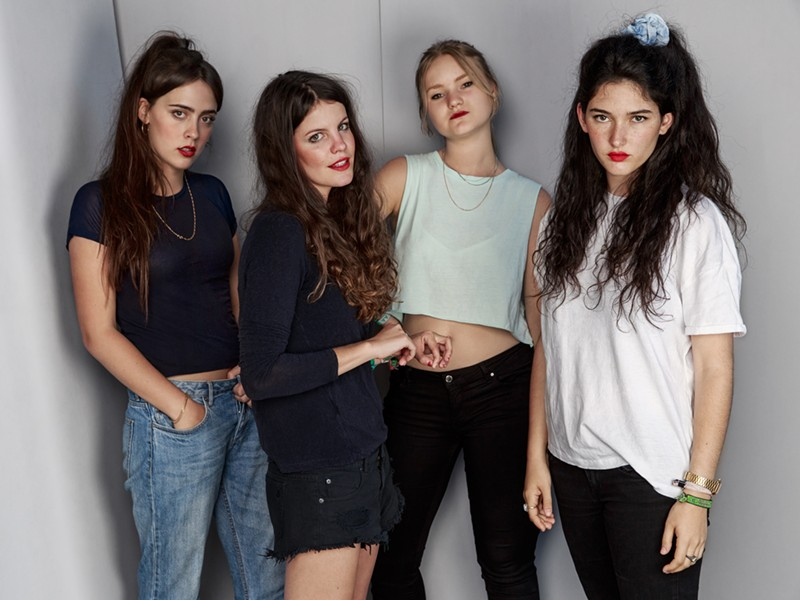 The members of Hinds. - COURTESY PHOTO.
