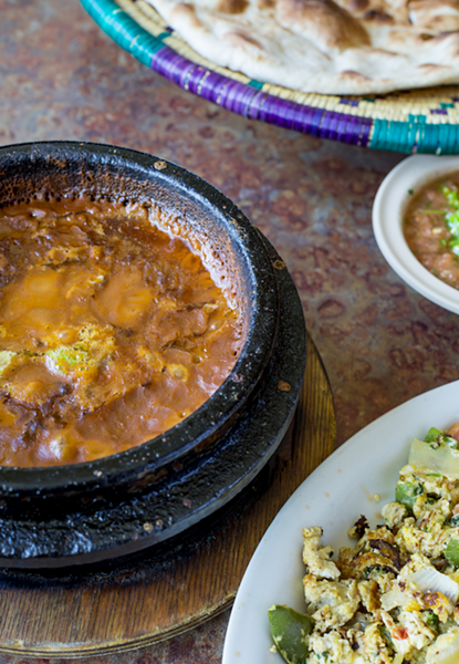 The most important meal can be gallabah and mathlooth from Sheeba Restaurant. - PHOTO BY JACOB LEWKOW.