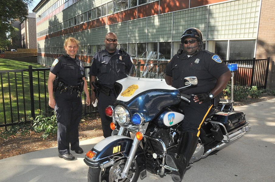 Wayne State Police Officers - PHOTO VIA FLICKR