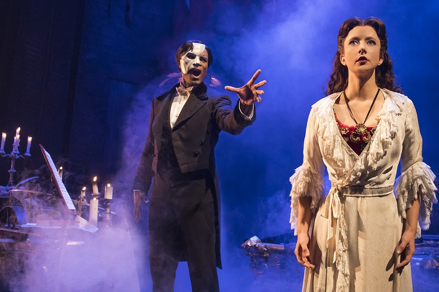 Phantom of the Opera. Photo courtesy of Broadway in Detroit.