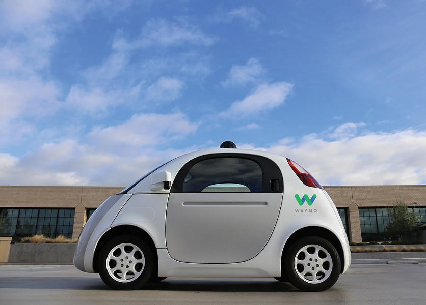 Waymo, the autonomous car project by Google parent company Alphabet. - PHOTO COURTESY OF WAYMO