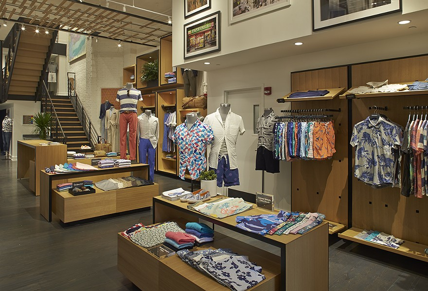 Bonobos' Fifth Avenue, NYC guideshop. Photo courtesy of Bonobos.