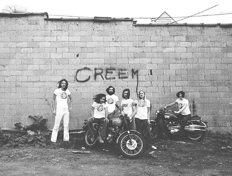 Creem magazine employees in 1969. - CHARLIE AURINGER