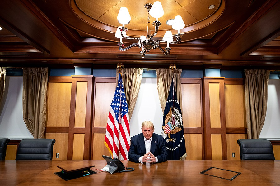 This isn't about a principled stand for republican liberty in the face of democratic oppression. This is about power in its rawest, purest form. - THE WHITE HOUSE (PUBLIC DOMAIN)