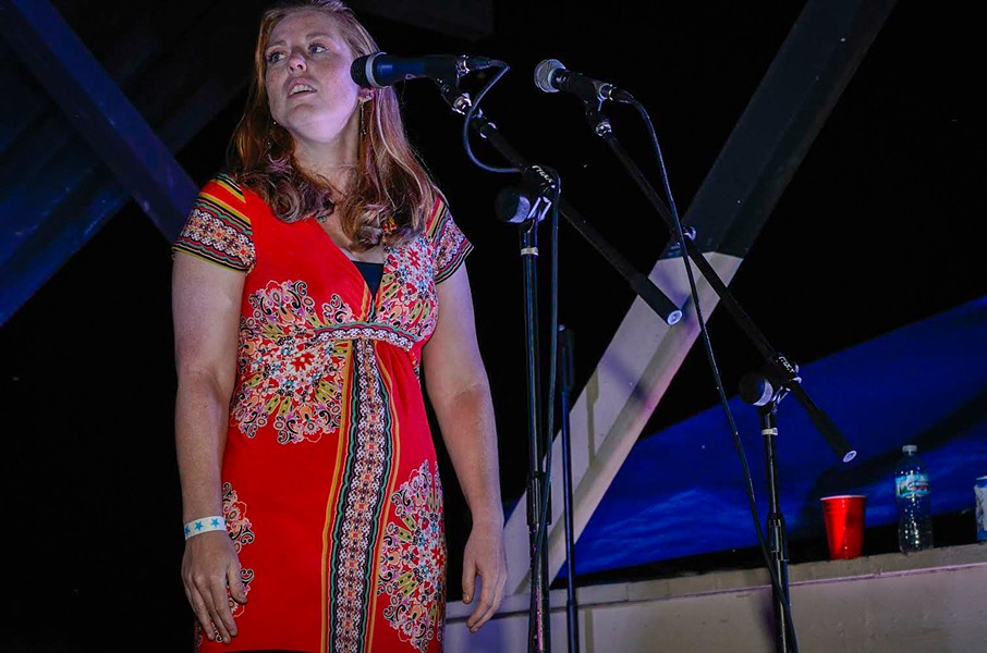 Harmony lost: Detroit won't soon forget the sweet sounds of Kelly Corrigan, who died of cancer Thursday night at her home in River Rouge. - TIM MEEKS