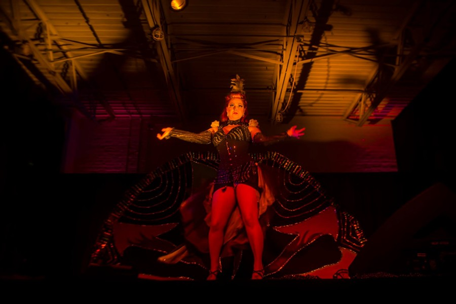 Mardi Gras en Rouge at Tangent Gallery. Courtesy photo.