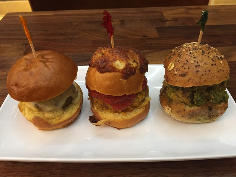 Meatball sliders at Polpetta. - COURTESY PHOTO