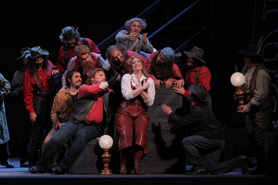 See Girl of the Golden West at the Detroit Opera House. - PHOTO COURTESY OF MICHIGAN OPERA THEATRE