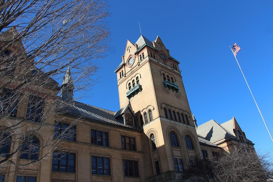 Wayne State University's Old Main building. - JEFF DUN (VIA FLICKR)
