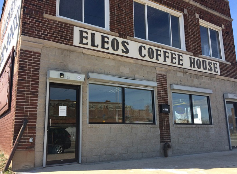 Eleos Coffee House - PHOTO BY TOM PERKINS