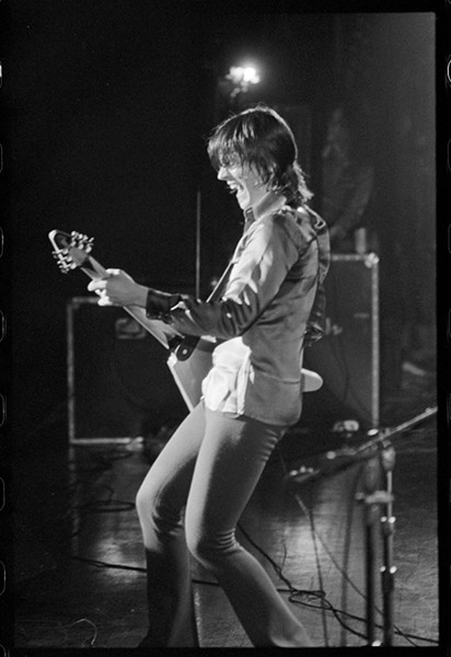 J. GEILS HIMSELF, IN APRIL OF 1972. PHOTO BY ROBERT MATHEU.
