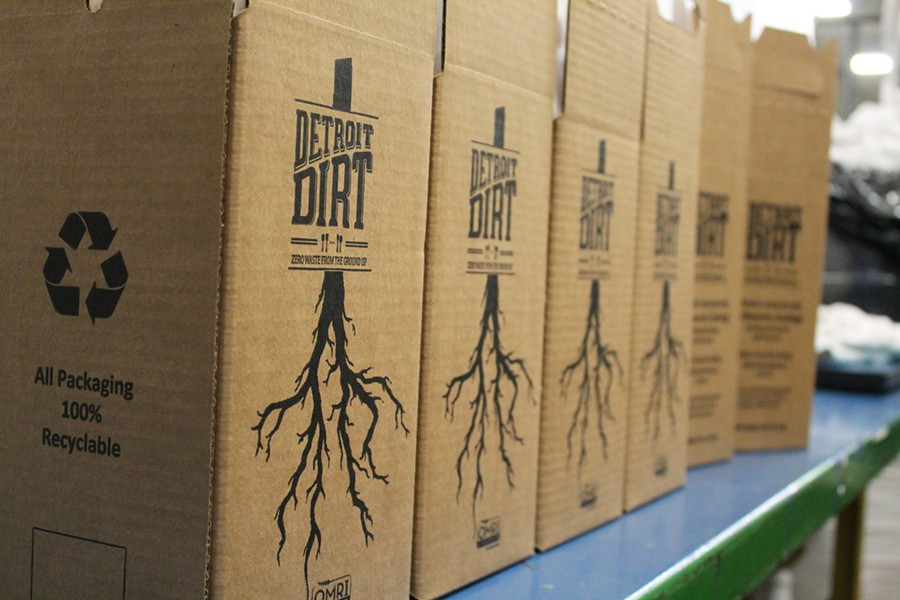Detroit Dirt packaging was created by Michigan Box. - COURTESY PHOTO.