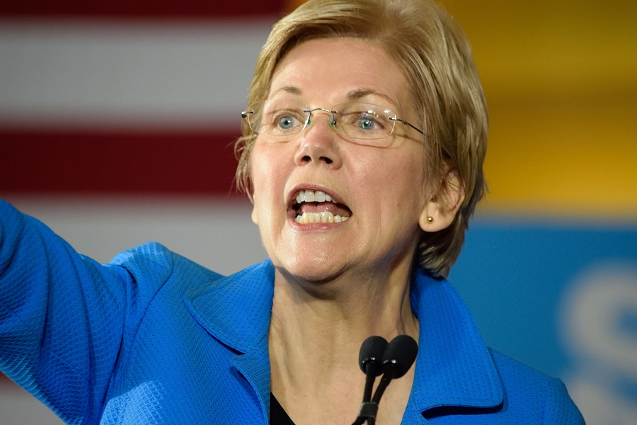 Sen. Elizabeth Warren has launched DeVos Watch. - PHOTO VIA SHUTTERSTOCK.COM